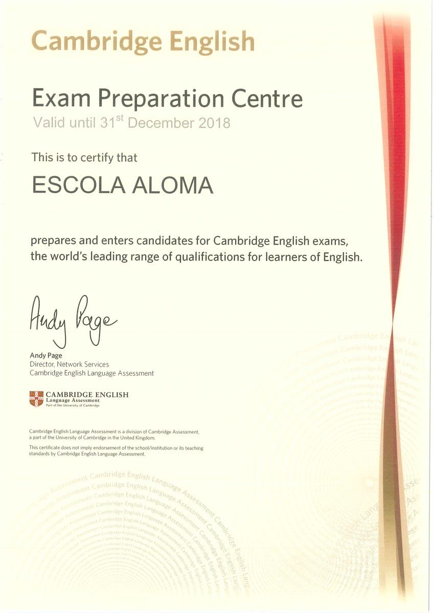 Exam Preparation Centre Cambridge Certification